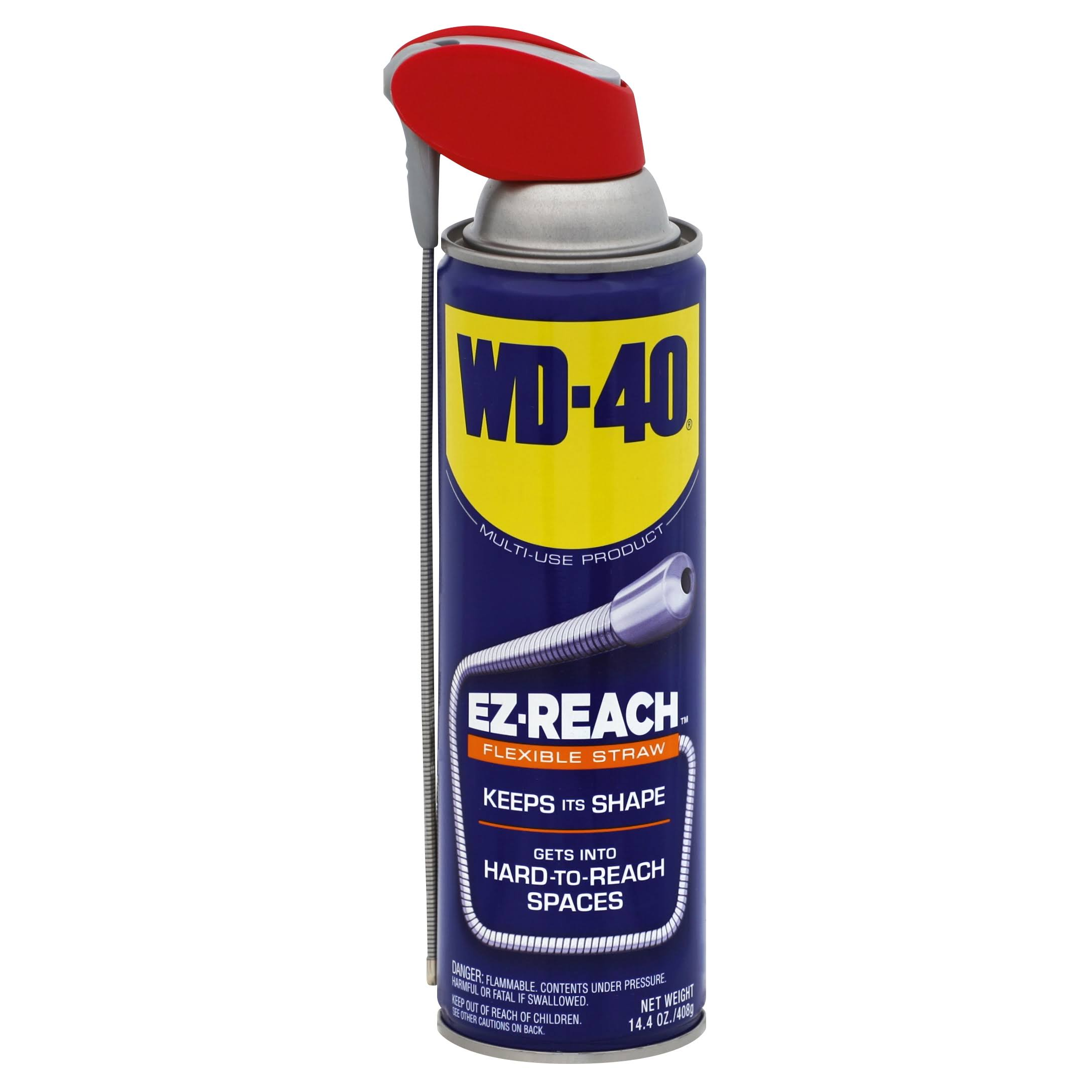 WD-40 490197Multi-Use Lubricant with EZ-Reach Straw