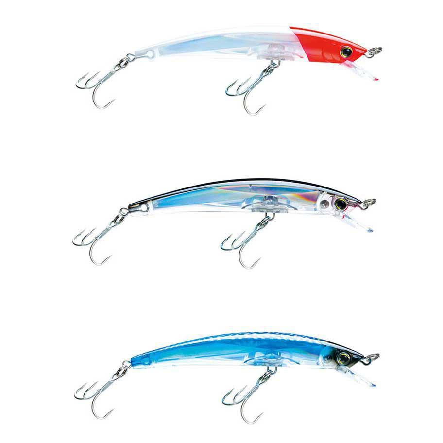 Yo-Zuri Crystal Minnow Floating Lure - Blue Silver, 4-3/8""