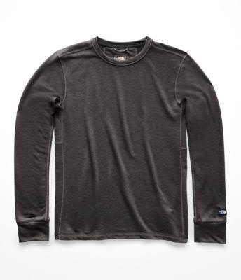 The North Face Terry Long-Sleeve Crew - Men's TNF Dark Grey Heather, M