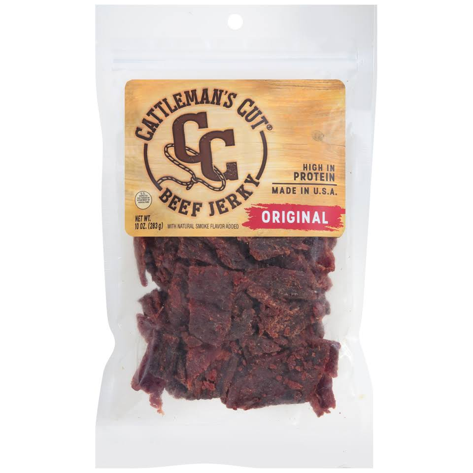 Cattleman's Cut Beef Jerky - Original, 10oz