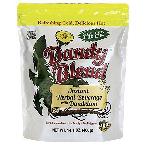 Dandy Blend Instant Herbal Beverage with Dandelion