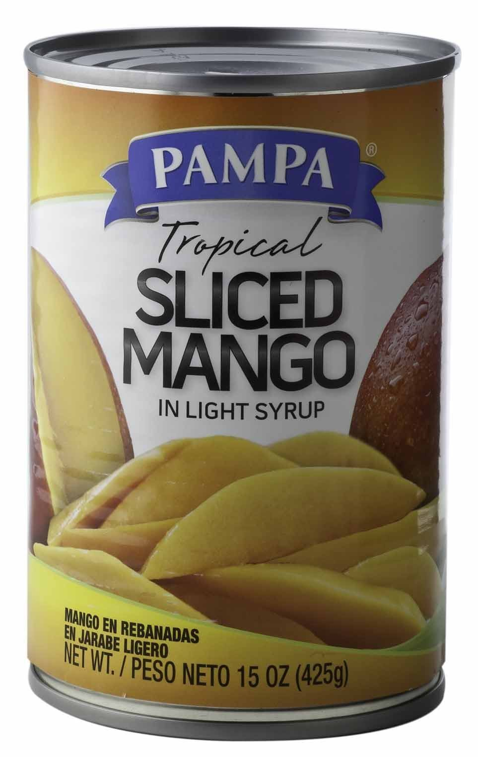 Pampa Mango Slices in Light Syrup