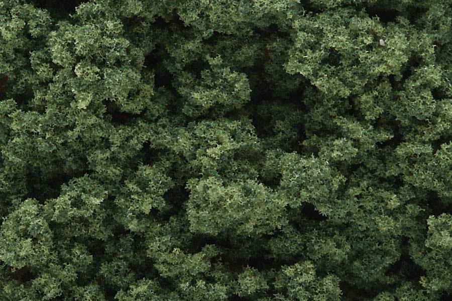 Woodland Scenics FC183 Clump Foliage - Medium, Green