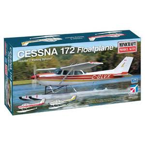 Minicraft 1/48 Cessna 172 Floatplane, Scale Model