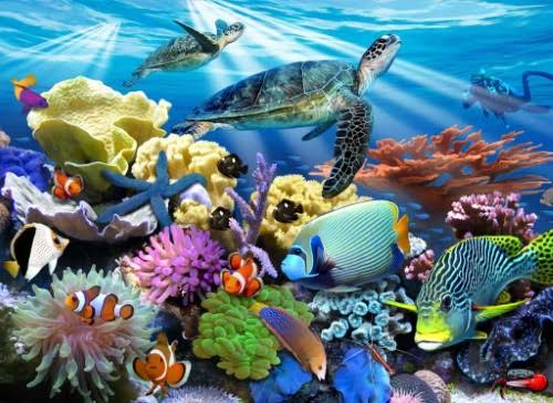 Ravensburger Ocean Turtles Jigsaw Puzzle - 200 Pieces