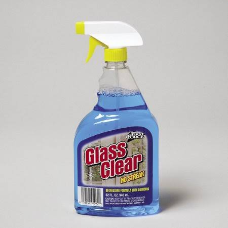 First Force Blue Glass Cleaner