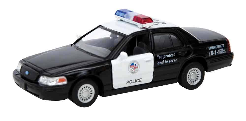 Schylling Die Cast Car Playset - Police