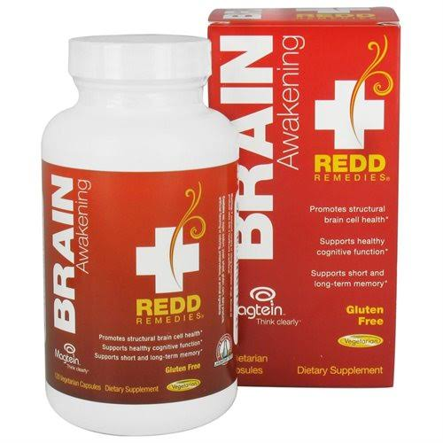 Redd Remedies Brain Awakening 120 Capsules