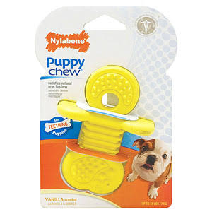 Nylabone Puppy Rubber Teether - Small