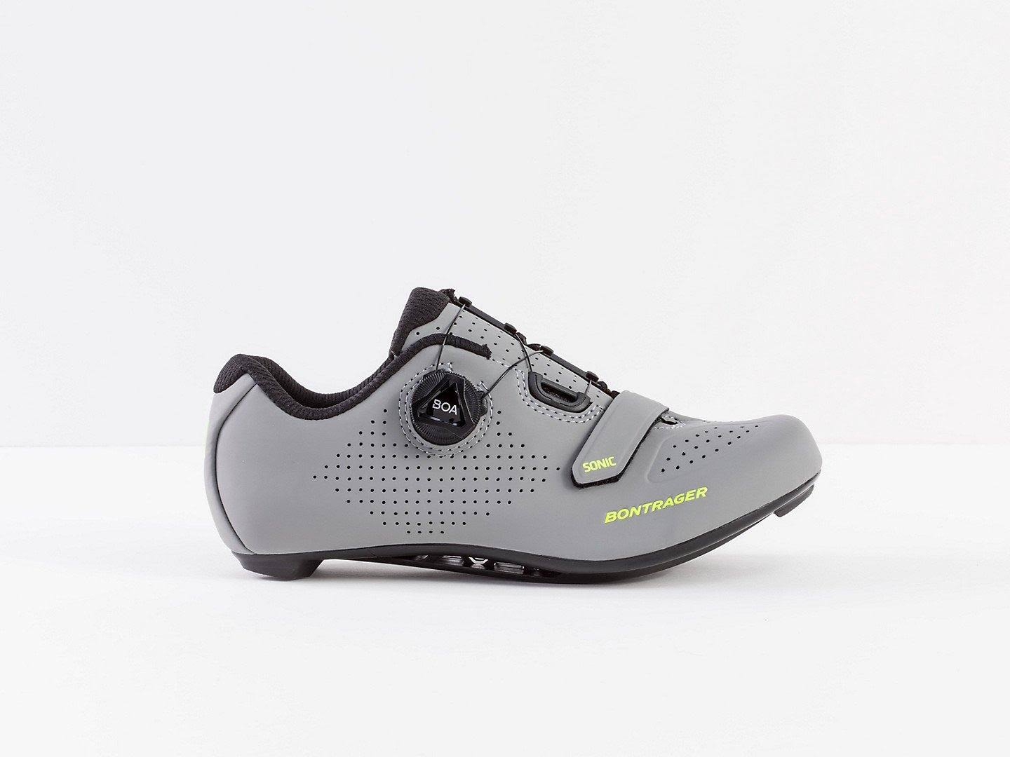 Bontrager Sonic Women's Road Shoe - Gravel/Volt - 42
