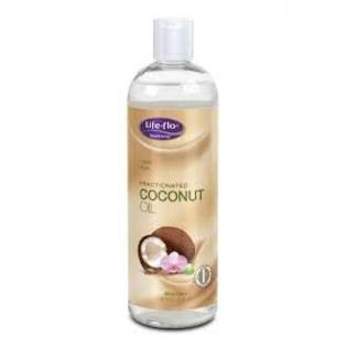 Life Flo Fractionated Coconut Oil - 16 oz