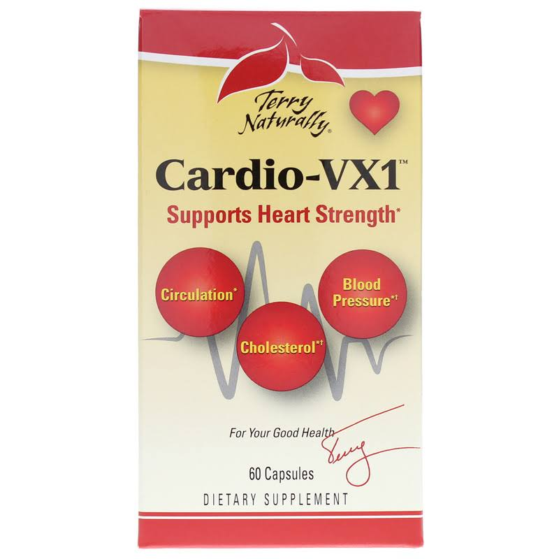 EuroPharma Terry Naturally Cardio-vx1 Supplement - 60ct