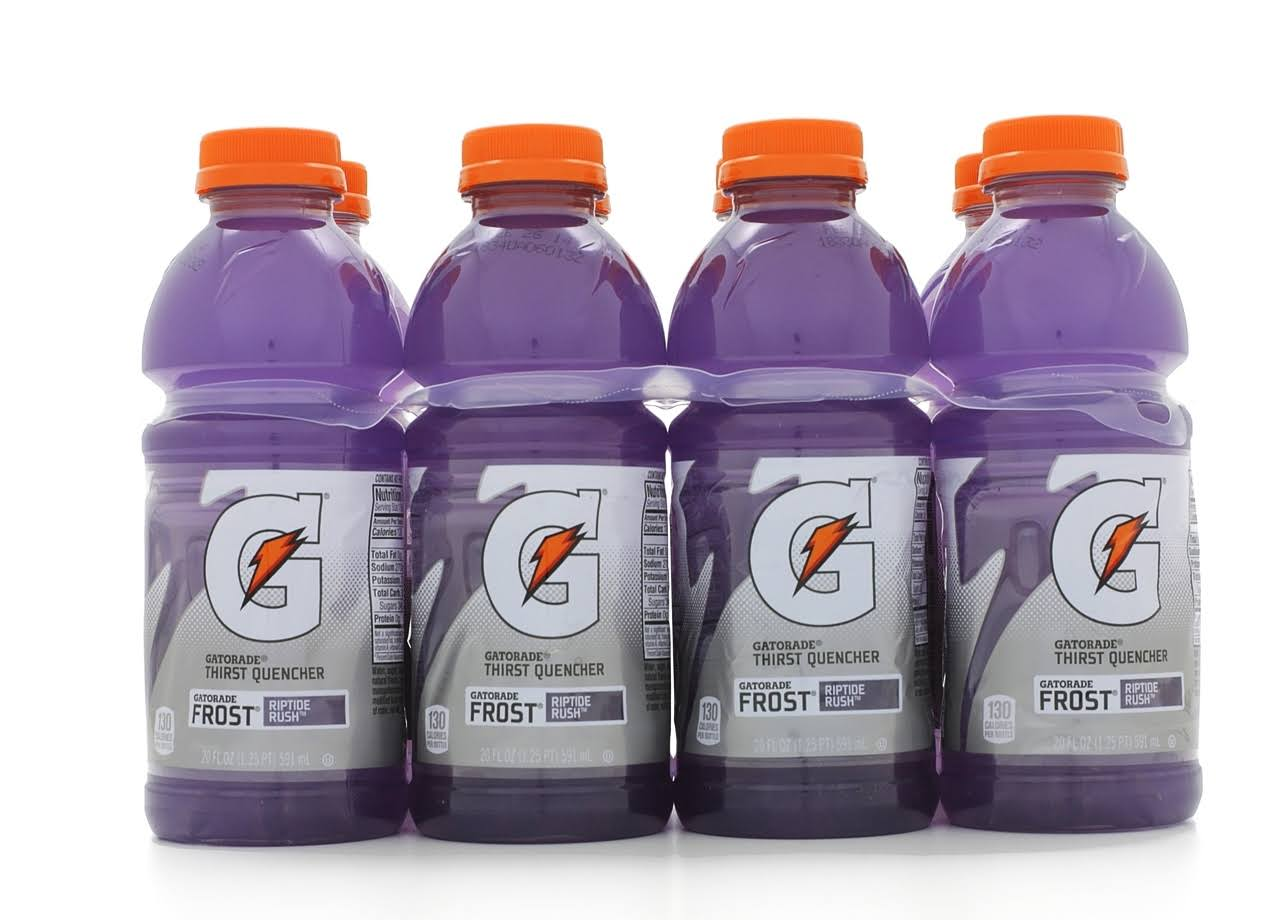 Gatorade G Riptide Rush Thirst Quencher Drink - 20oz