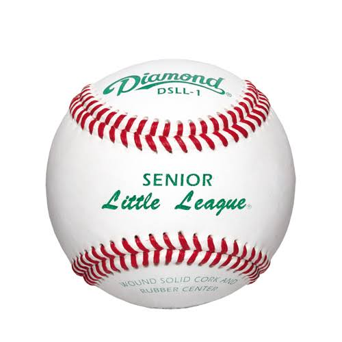 Diamond DSLL-1 Senior Little League Baseballs - 1 Dozen