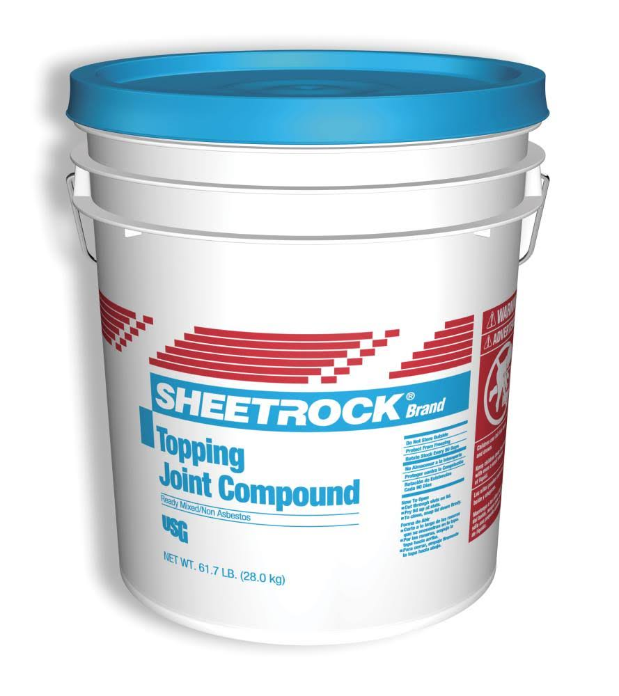 Sheetrock Topping Pre-Mixed Joint Compound - 4.5 Gal