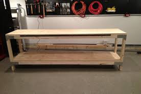how to build a heavy duty workbench one project closer