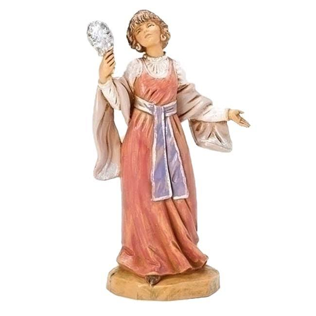 Fontanini 5 inch Scale Daphne The Jeweler