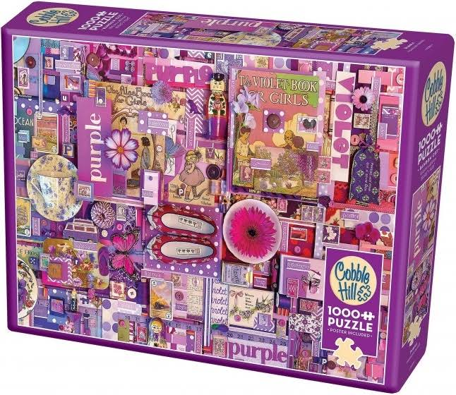 "Rainbow Project - Purple - Jigsaw Puzzle 1000 Pieces 26.625""X19.25"""