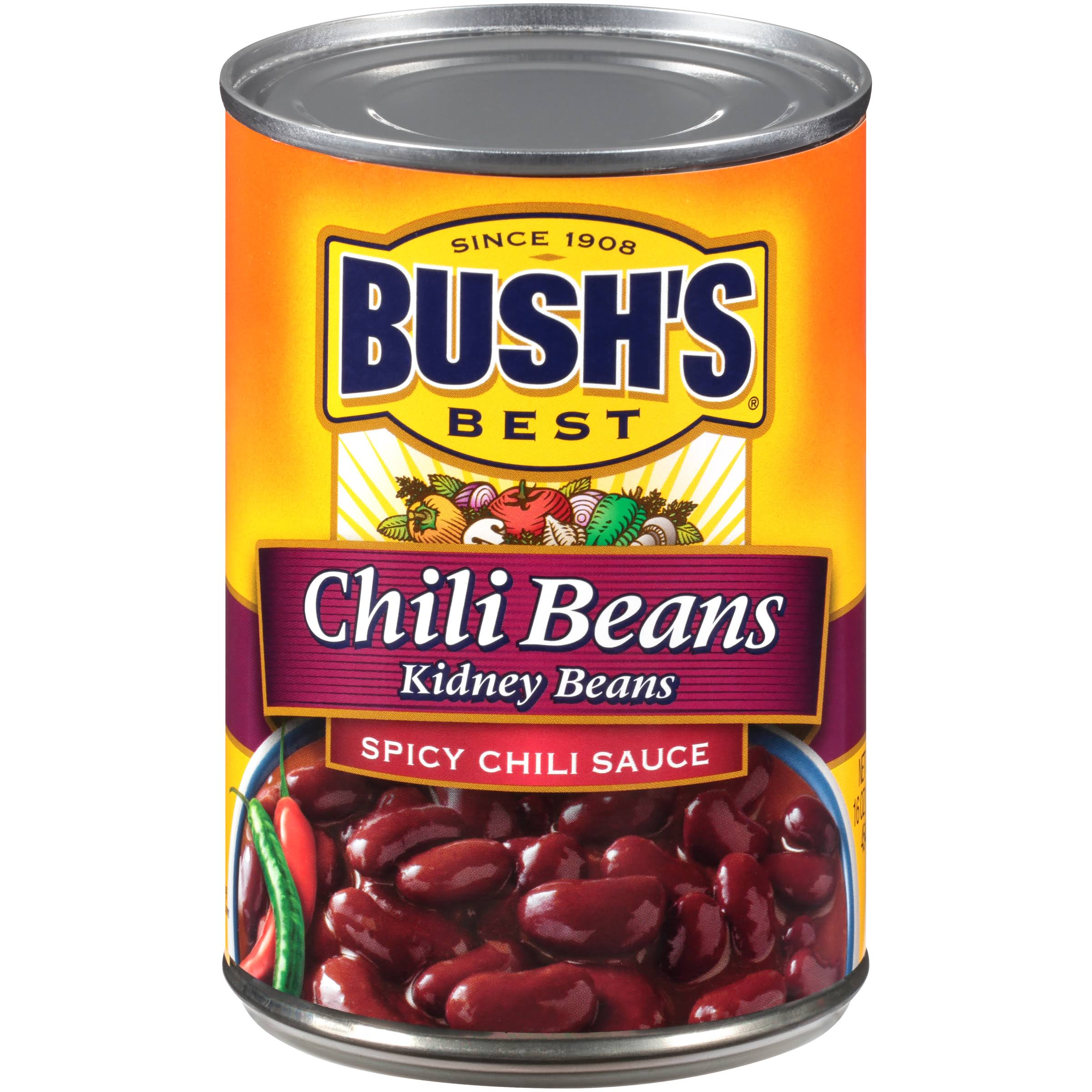 Bush's Best Spicy Chili Kidney Beans - 16oz
