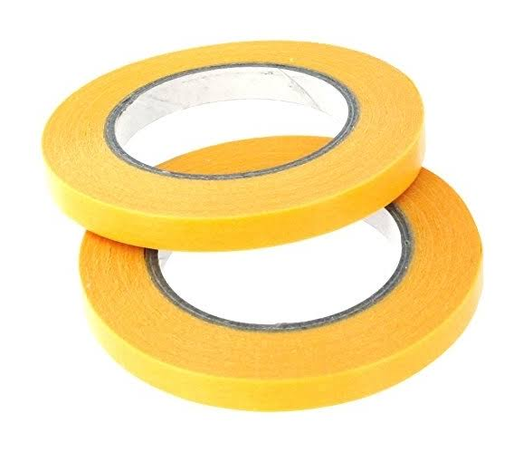 Modelcraft PMA2006 Precision Masking Tape 6mm x 18m, Twin Pack
