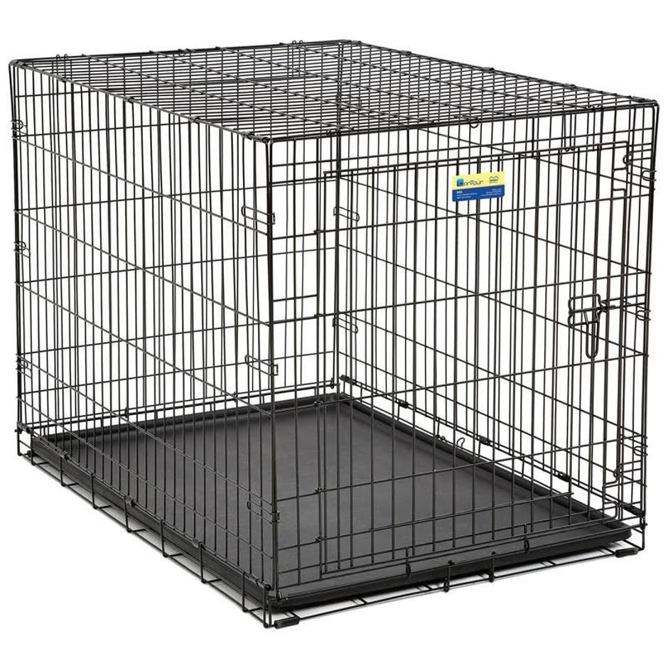 Midwest Metal Products Contour Dog Crate - 42 x 28 x 30
