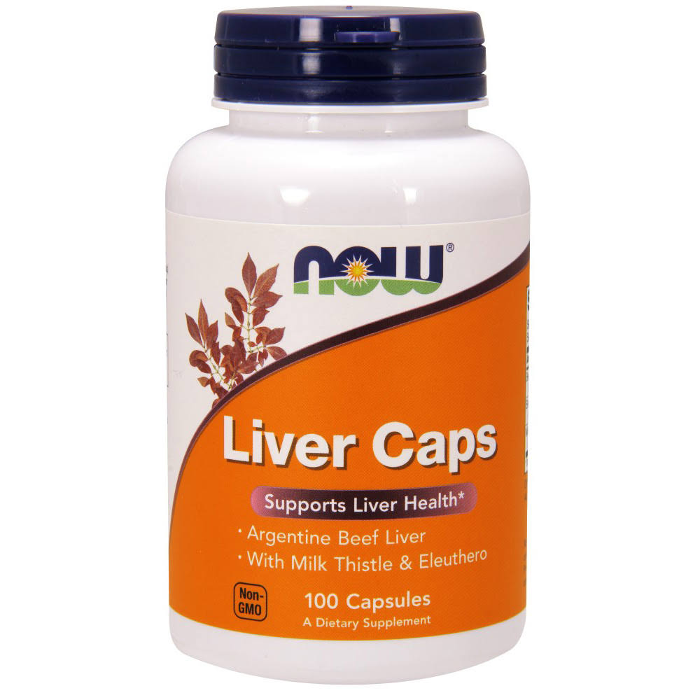 Now Foods Liver Extract Caps - x100