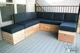 Build Your Own Outdoor Patio Table by How To Build Your Own Sectional Patio Furniture How To Make