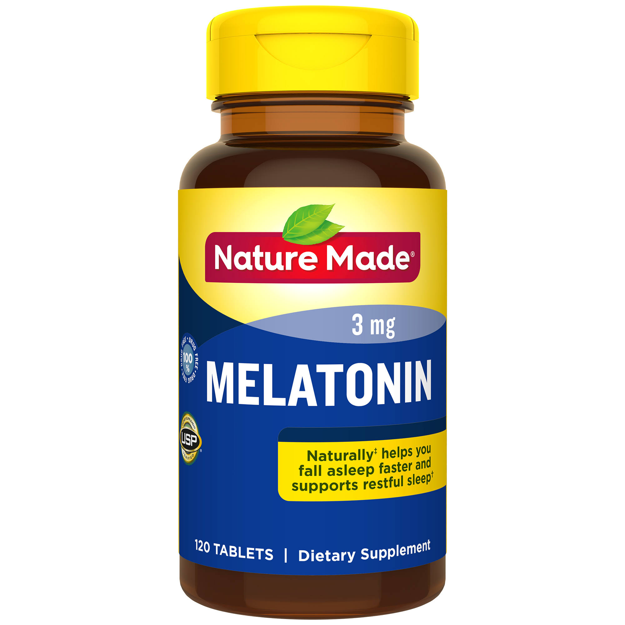 Nature Made Melatonin Tablets - 120ct