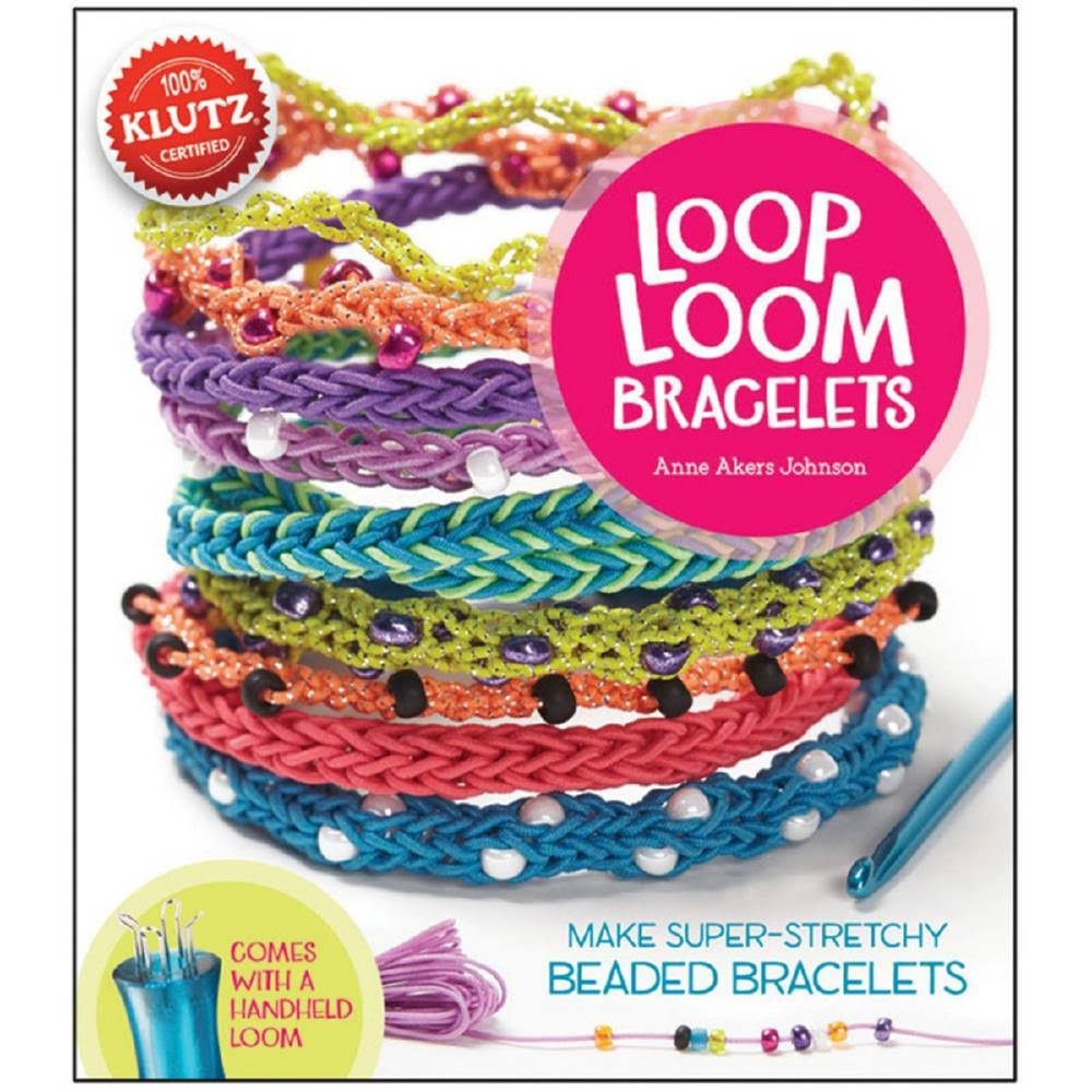 Klutz Loop Loom Bracelets Book Kit