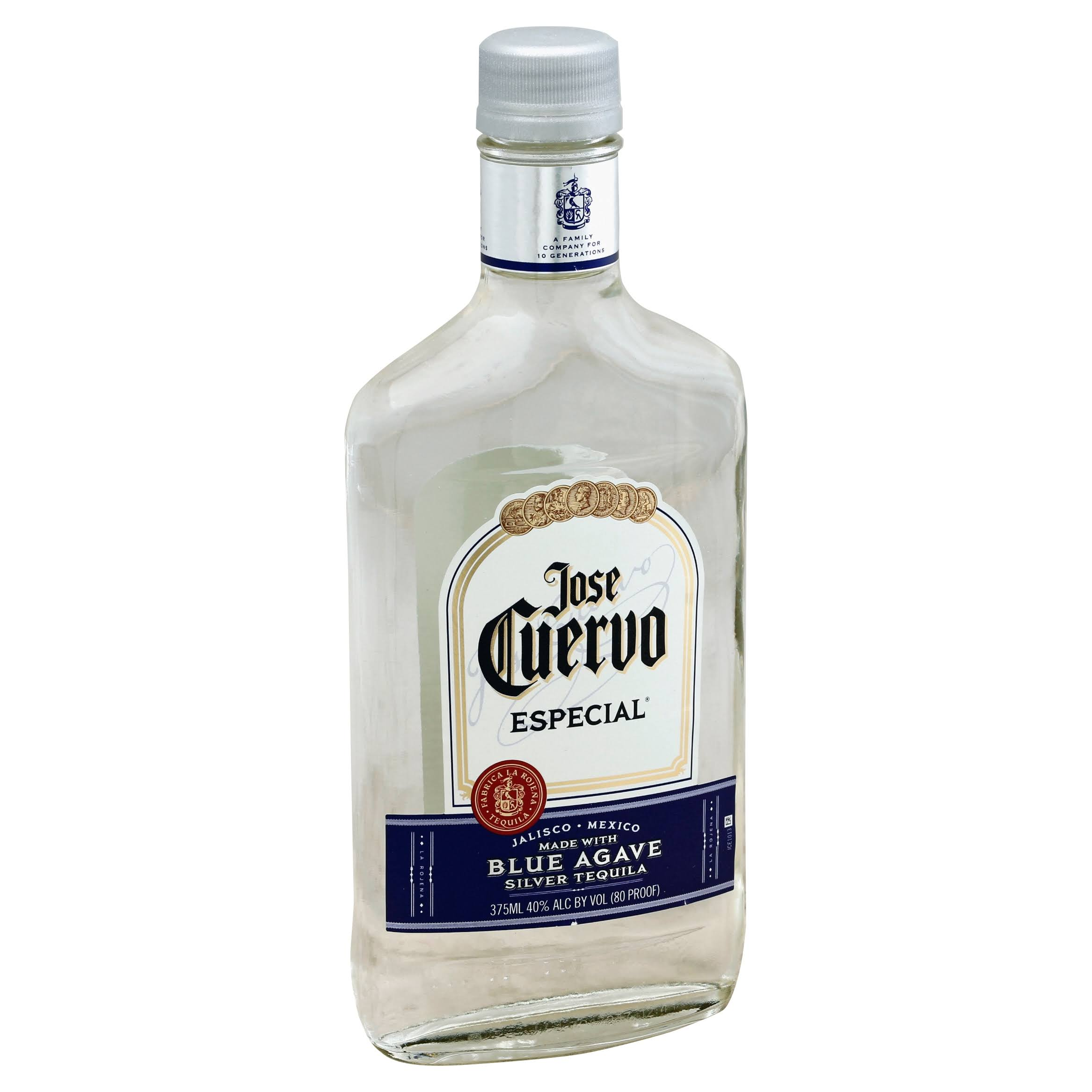 Jose Cuervo Especial Tequila, Silver, Blue Agave - 375 ml