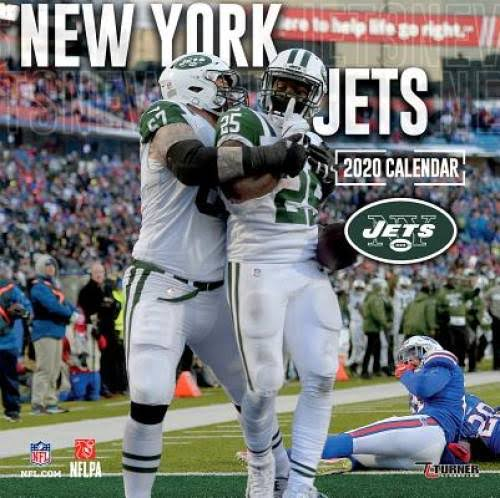 New York Jets 2020 Team Wall Calendar - Lang Companies