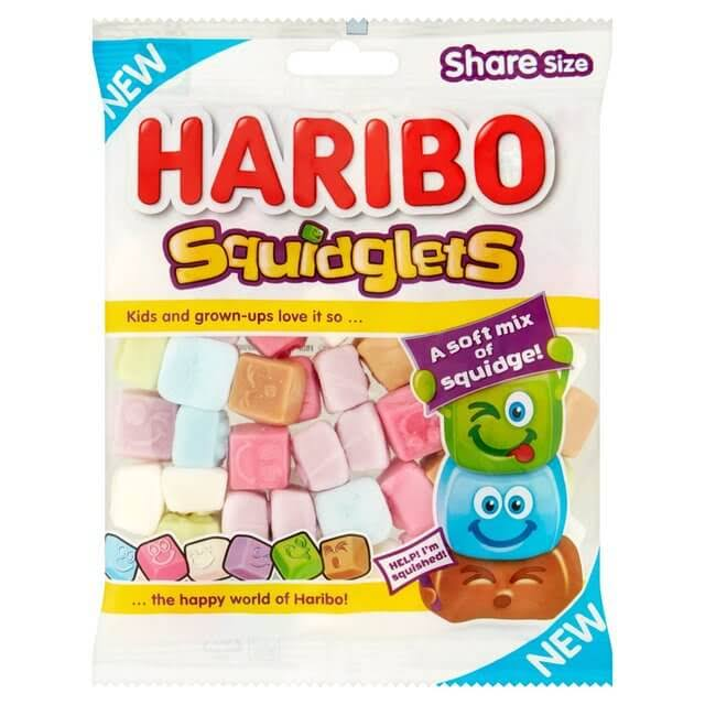 Haribo Squidglets Bag - 140g