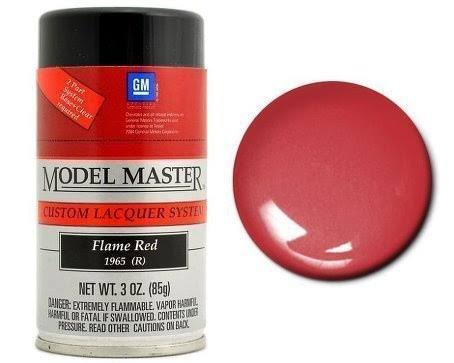 Model Master Spray Flame Red 3 oz