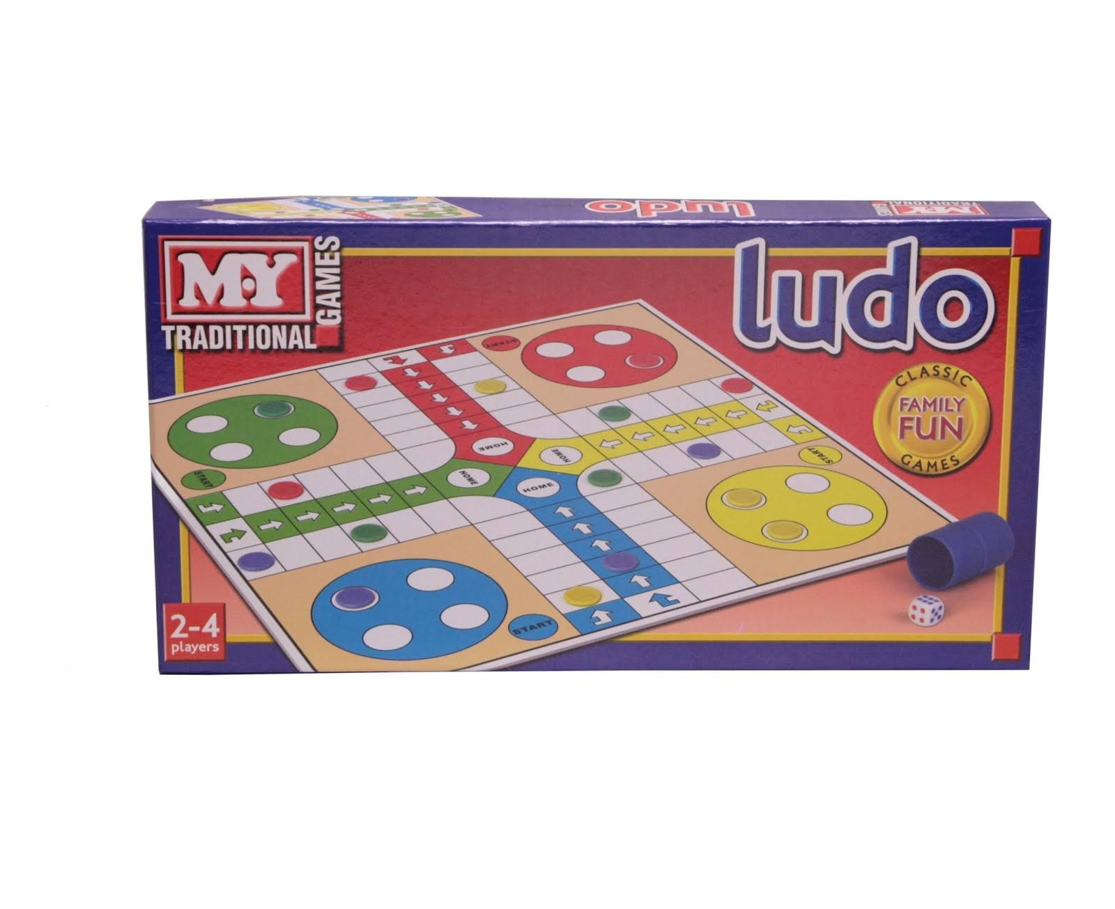 Ludo Traditional Board Game