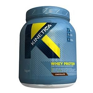 Kinetica Whey High Protein Supplement - Chocolate, 1kg