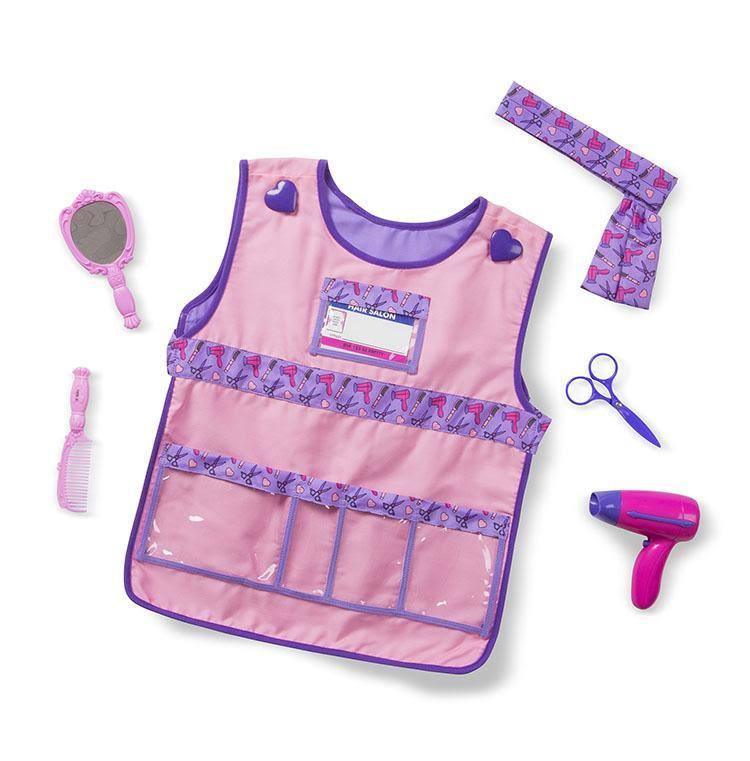Melissa & Doug - Hair Stylist Role Play Costume Set