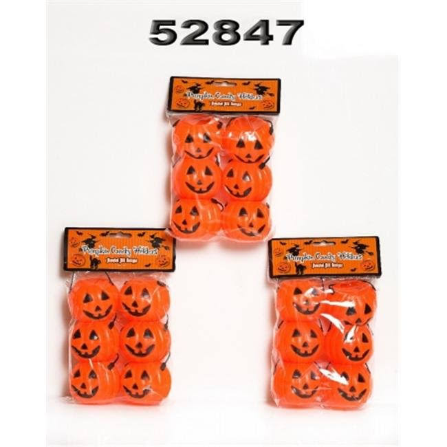 Its In The Bag 52847 Pumpkin Candy Buckets