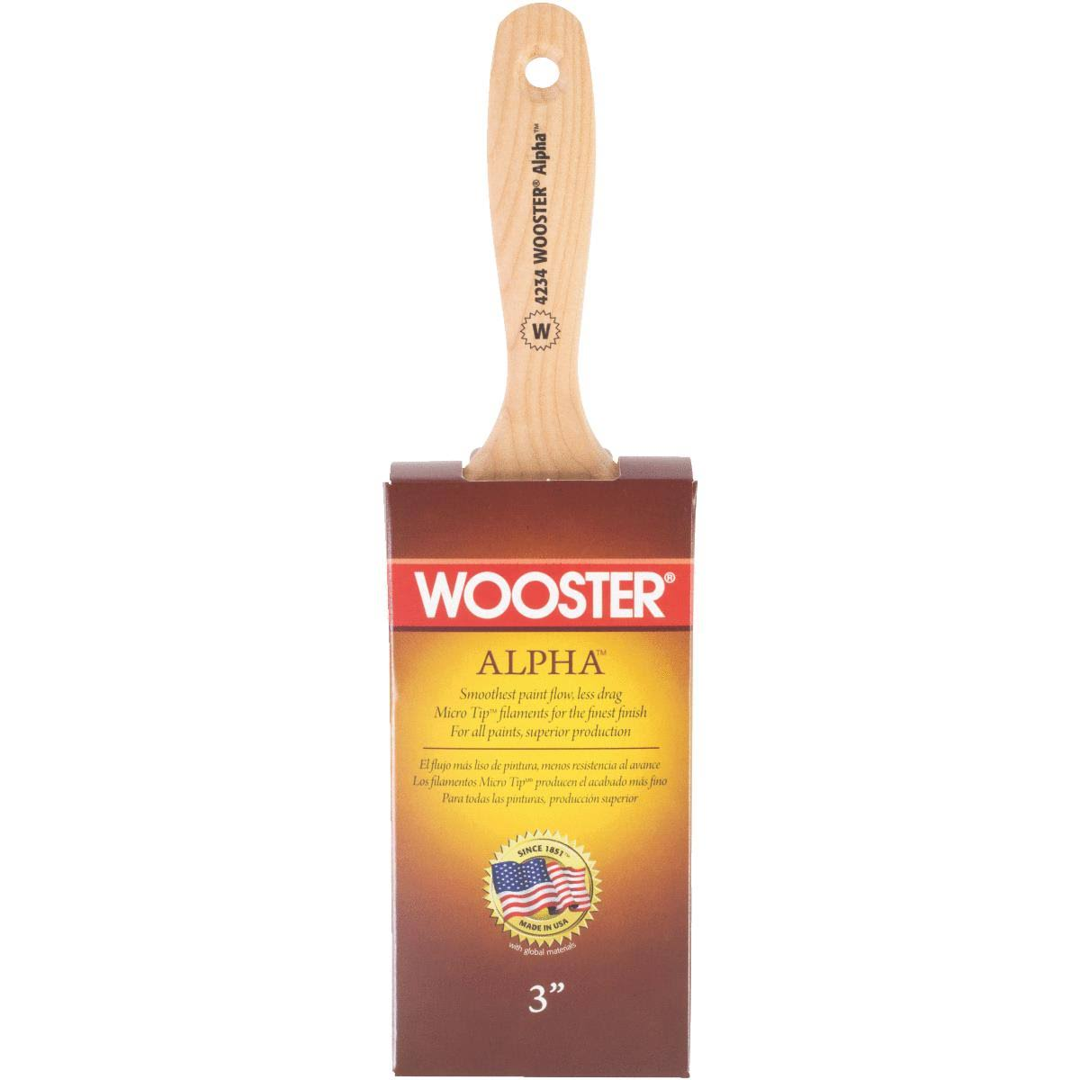 Wooster Brush Alpha Wall Paintbrush - 3""