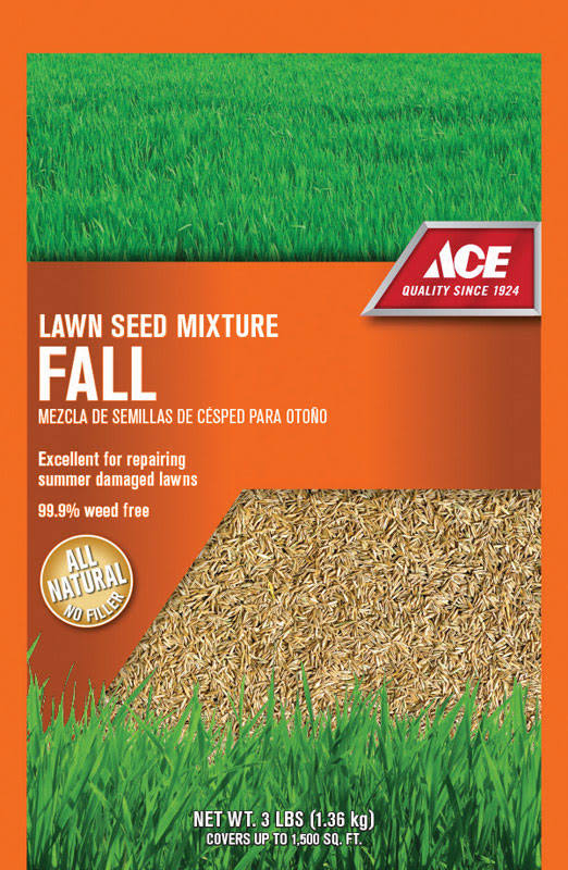 Ace® Fall Grass Seed Mix - 3lbs