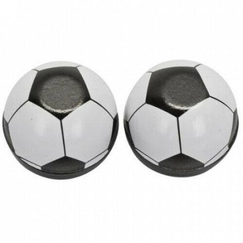 Trick Tops Soccer Ball Valve Caps - Black