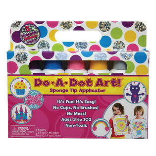 Do A Dot Art Washable Shimmers - 5 Bottles