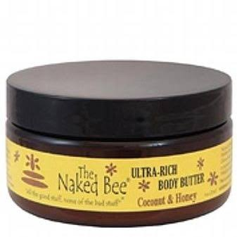 The Naked Bee Ultra Rich Body Butter - Coconut and Honey, 240ml