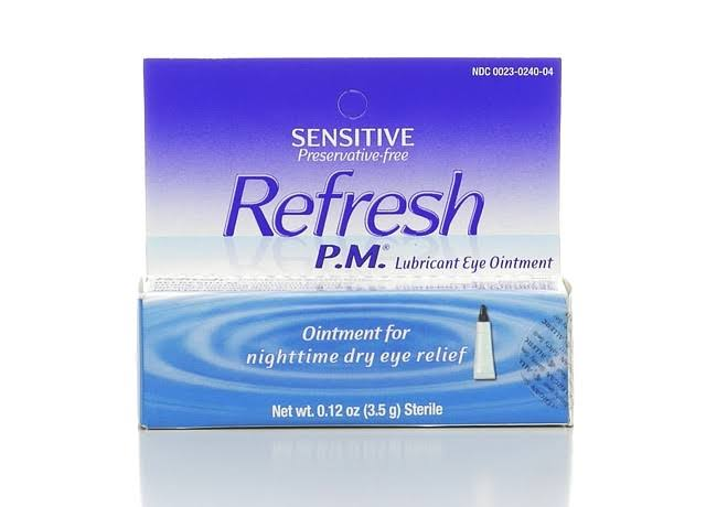 Refresh P.M. Lubricant Eye Nighttime Ointment - 0.12 oz