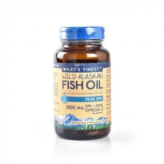 Wiley's Finest Peak EPA Fish Oil 60 Capsules