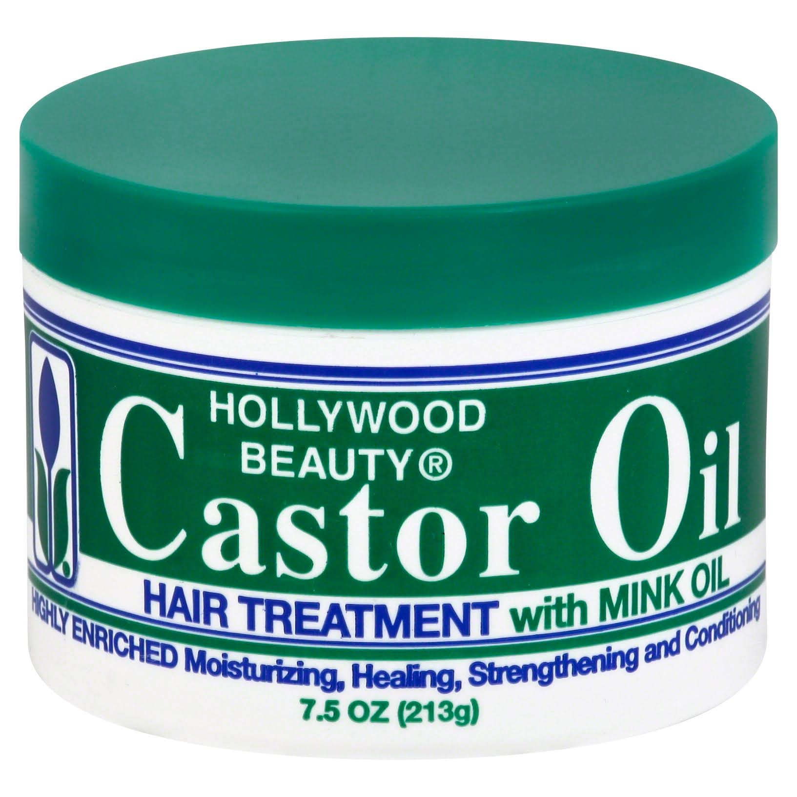Hollywood Beauty Castor Oil Hair Treatment With Mink - 213g