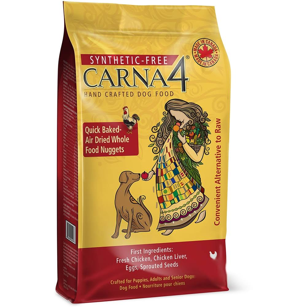 Carna4 Hand Crafted Dog Food 13-Pound Chicken