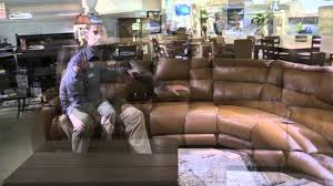 Chateau Dax Leather Sofa Macys by Altamonte Springs Sectional Power Recliner Top Grain Grain