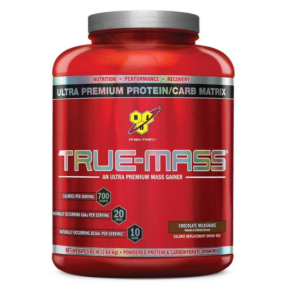 BSN True-Mass Ultra-Premium Mass Gainer Sport Supplement - Vanilla Ice Cream