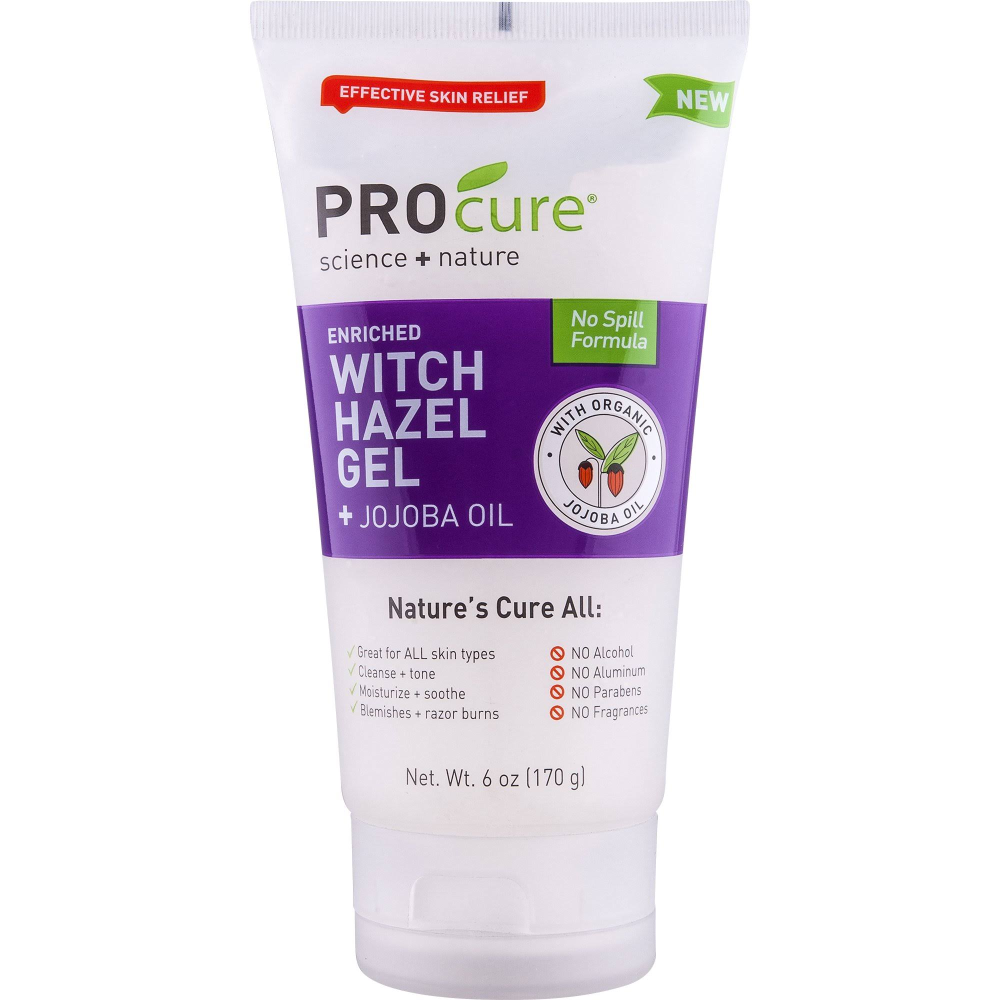 Procure Witch Hazel Gel - With Jojoba Oil, 6oz