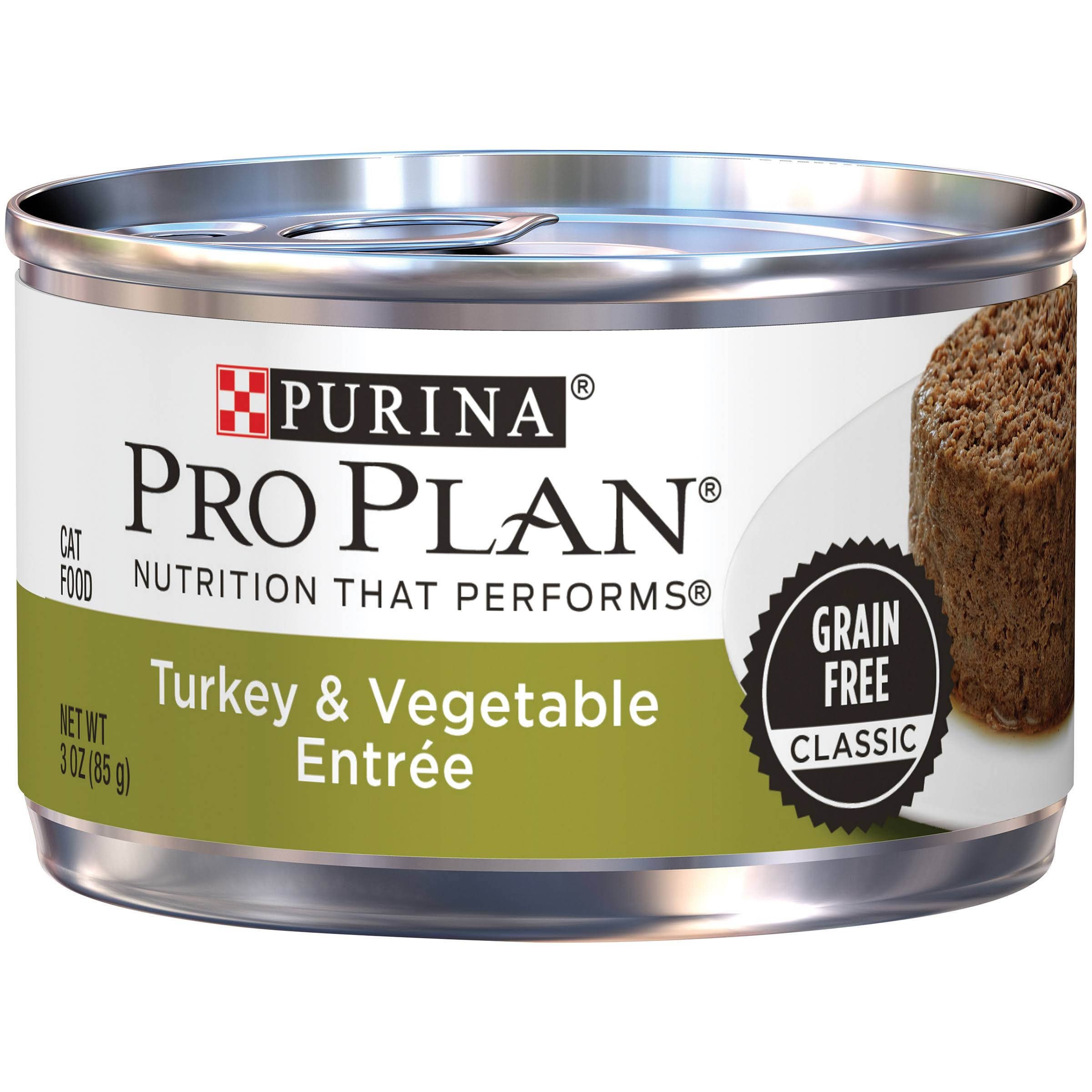 Pro Plan Savor Classic Adult Canned Cat Food - Turkey and Vegetable, 3oz